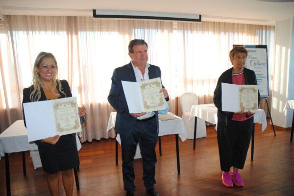 Rosanna Berardi, Giuliano e Maurizio Romagnoli, Emanuela Audisio.